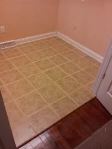 Laundry Room Tile Floor